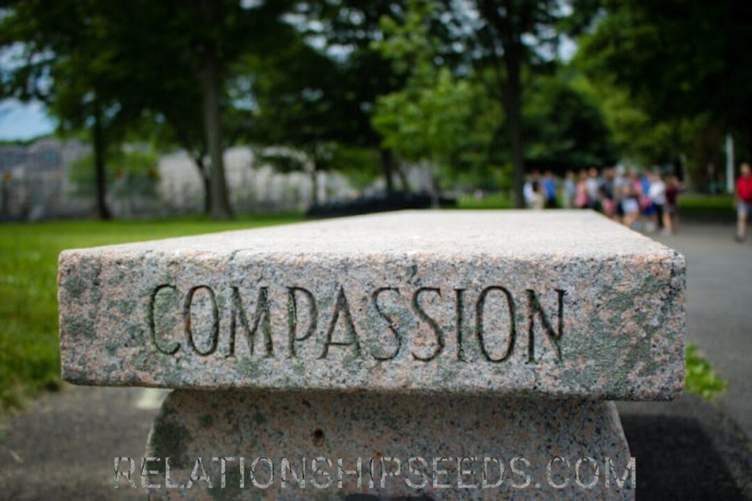 he had compassion
